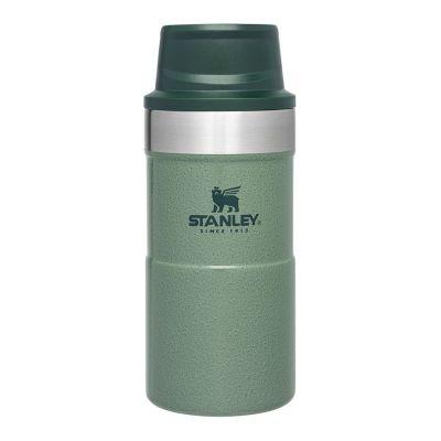 Stanley Trigger Action Travel mug 0,25L - Hammertone Green