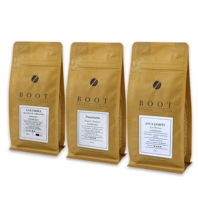 Garantie op Succes - Boot introductiepakket - 3-delig 250 gram Espresso