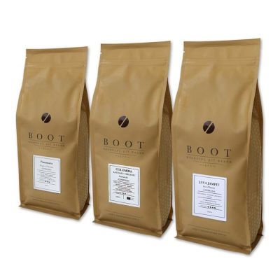 Garantie op Successen - Boot introductiepakket - 3-delig 1 Kg Espresso