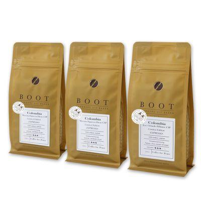 NIEUW - Coffee for Peace Pakket - Exclusive - 3-delig 250 grams Espresso