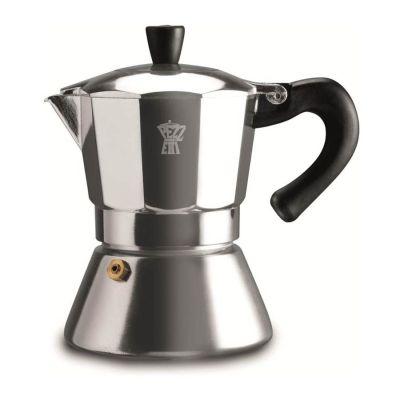 Espressokan Pezzetti 6 kops - Zilver