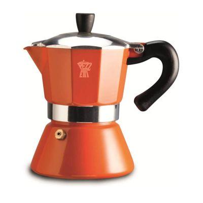 Espressokan Pezzetti 6 kops - Oranje