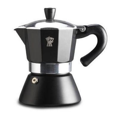 Espressokan Pezzetti 6 kops - Zwart