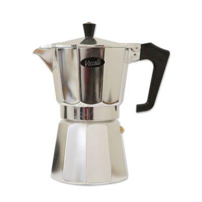 Voccelli - Espressokan - 6 kops - Aluminium