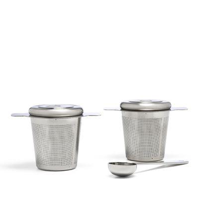 Bredemeijer theefilters, set van 2 RVS theefilters