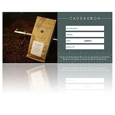 Webwinkel cadeaubon - Waarde € 100,00