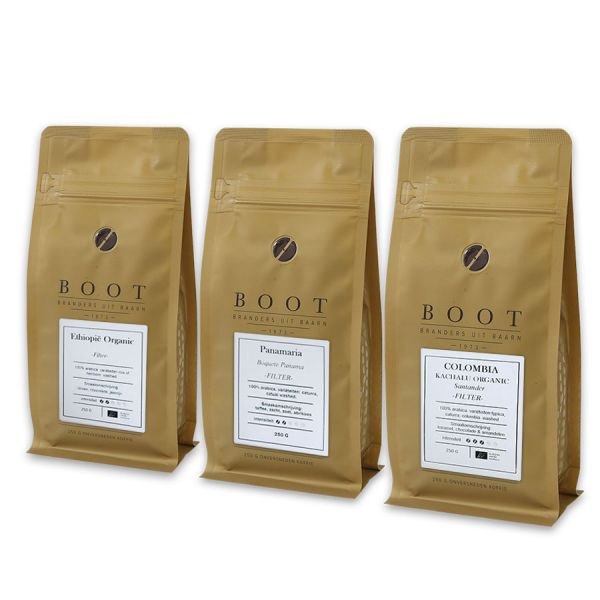 Langzaam maar Zeker - Boot filterpakket - 3-delig 250 gram Filter