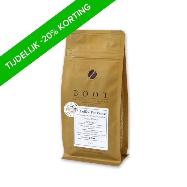 Coffee For Peace Colombia El Transformador Espresso - Limited Edition