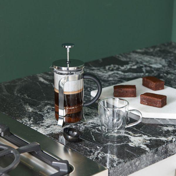 Cafetiere 350ml - RVS shiny