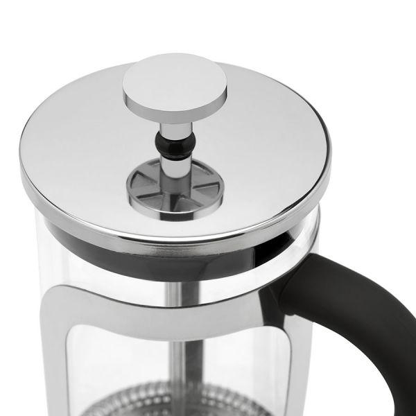 Cafetiere 600ml - RVS shiny