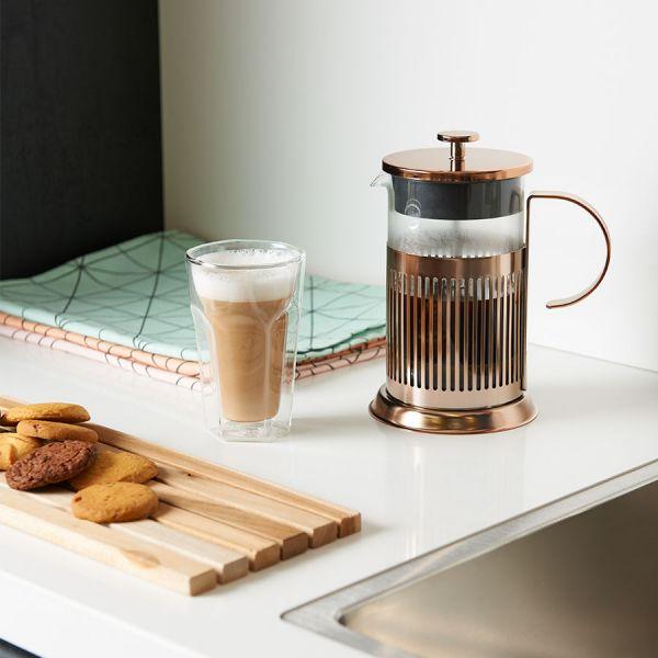 Cafetiere 800ml - koper