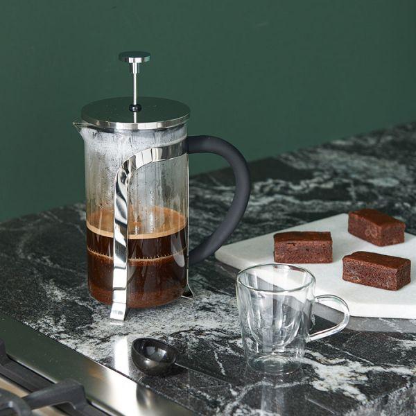 Cafetiere 1000ml - RVS shiny