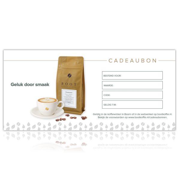 Webwinkel cadeaubon - Waarde € 75,00