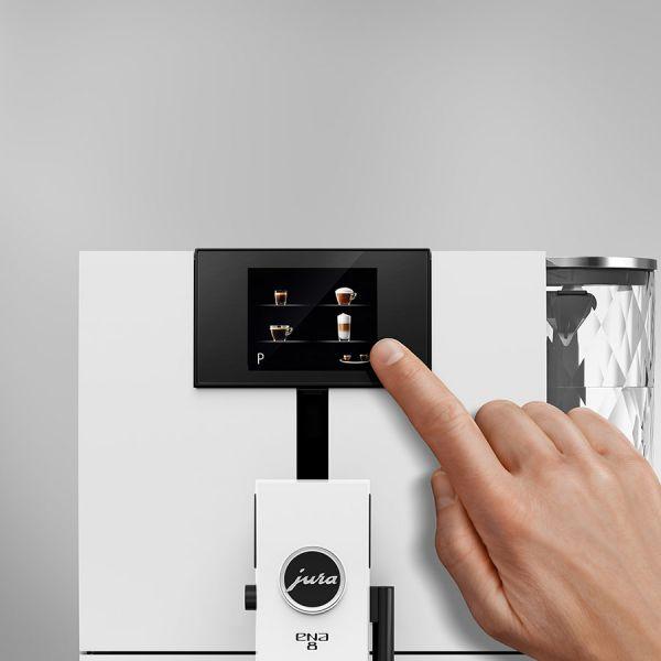 Jura ENA 8 Touch Nordic White