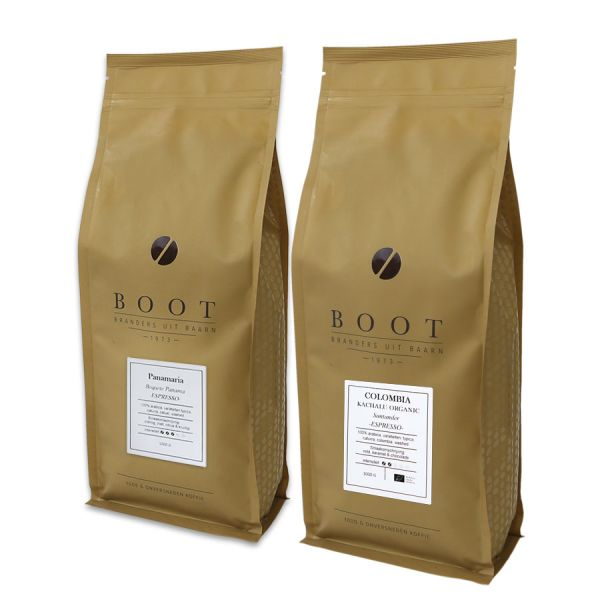 Mooi Succes - Boot hardlopers - 2-delig 1 Kg Espresso