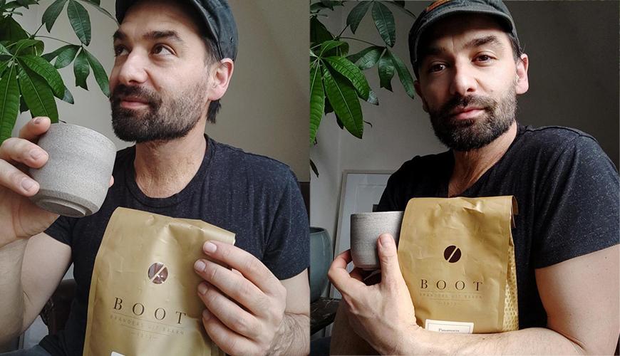 Toen acteur Dragan Bakema Boot Koffie ontdekte