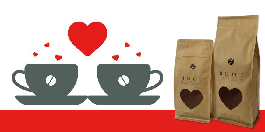Valentijnskoffie - Geef een pak van je hart