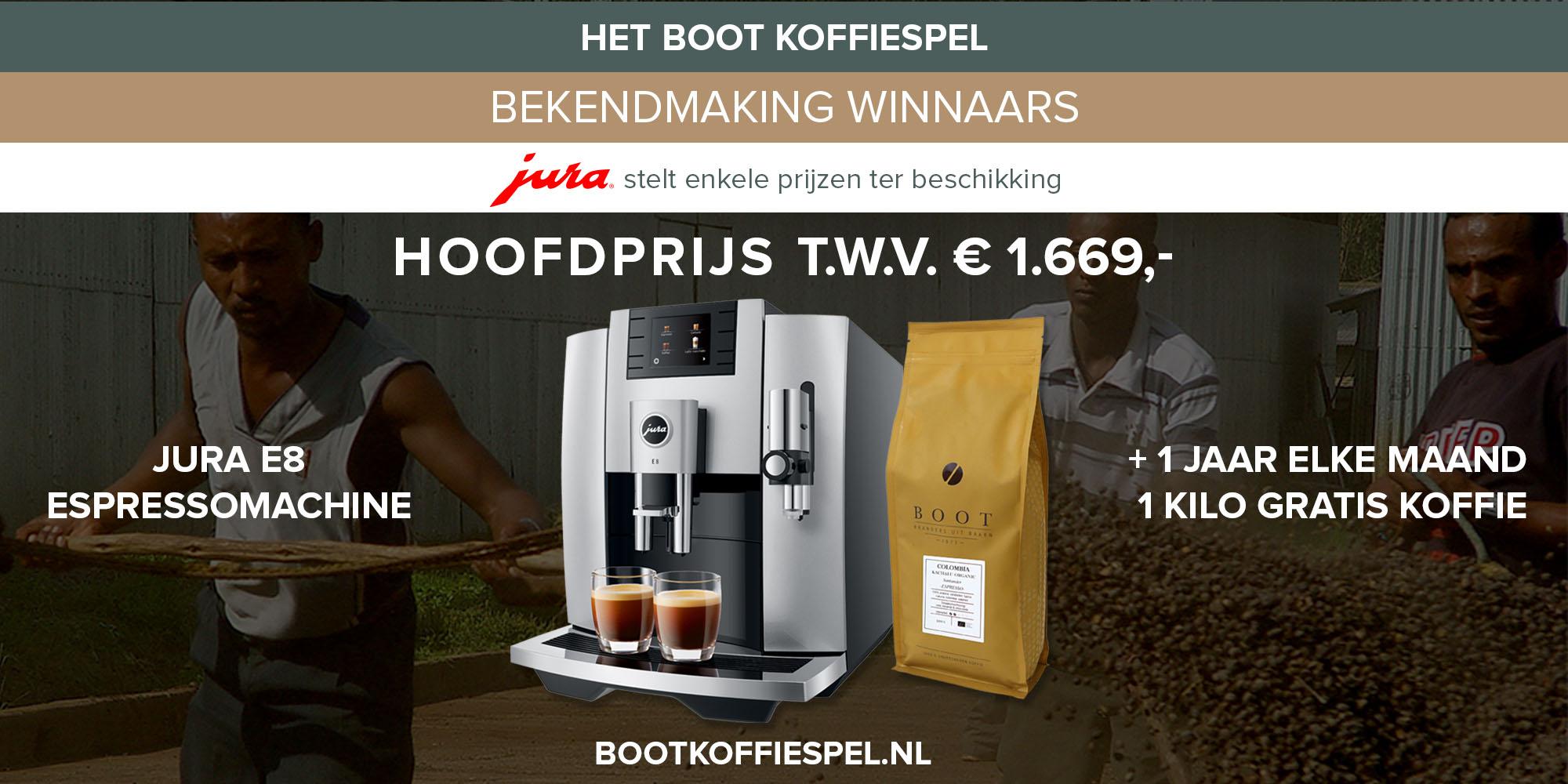 Het Boot Koffiespel - en de winnaars zijn...