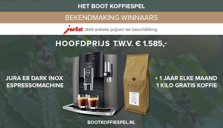 Het Boot Koffiespel - en de winnaars zijn ...