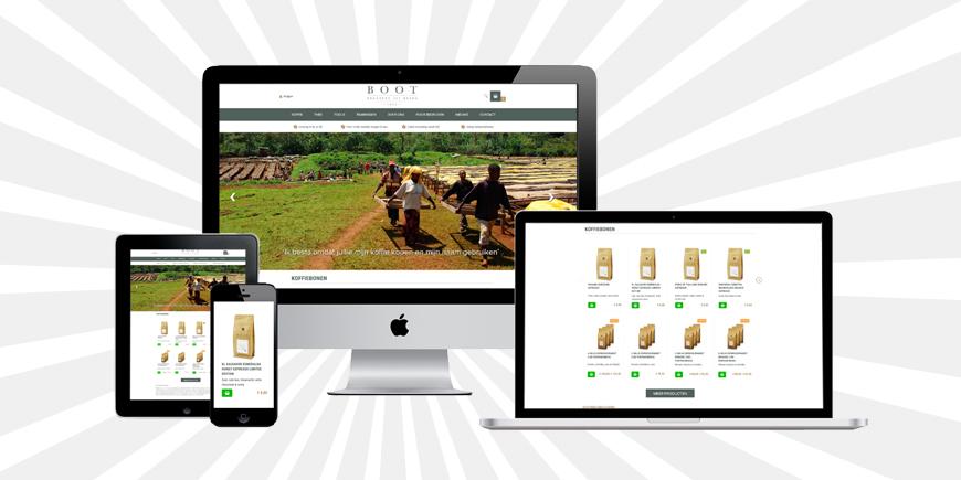 De nieuwe webwinkel van BOOT is live! oud